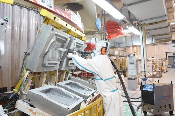 Limpieza química y criogénica